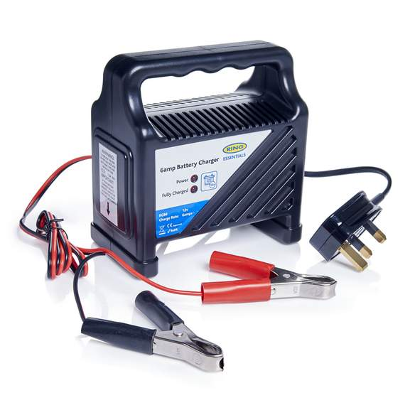 Ring 6A Car Battery Charger RCB6 £13 @ Tesco Direct