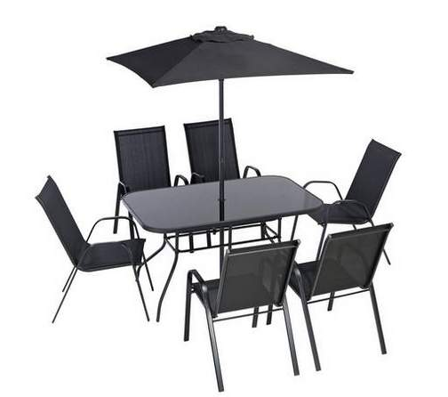 Argos Home Pacific 6 Seater Metal Patio Set Was 120 Now 79 99