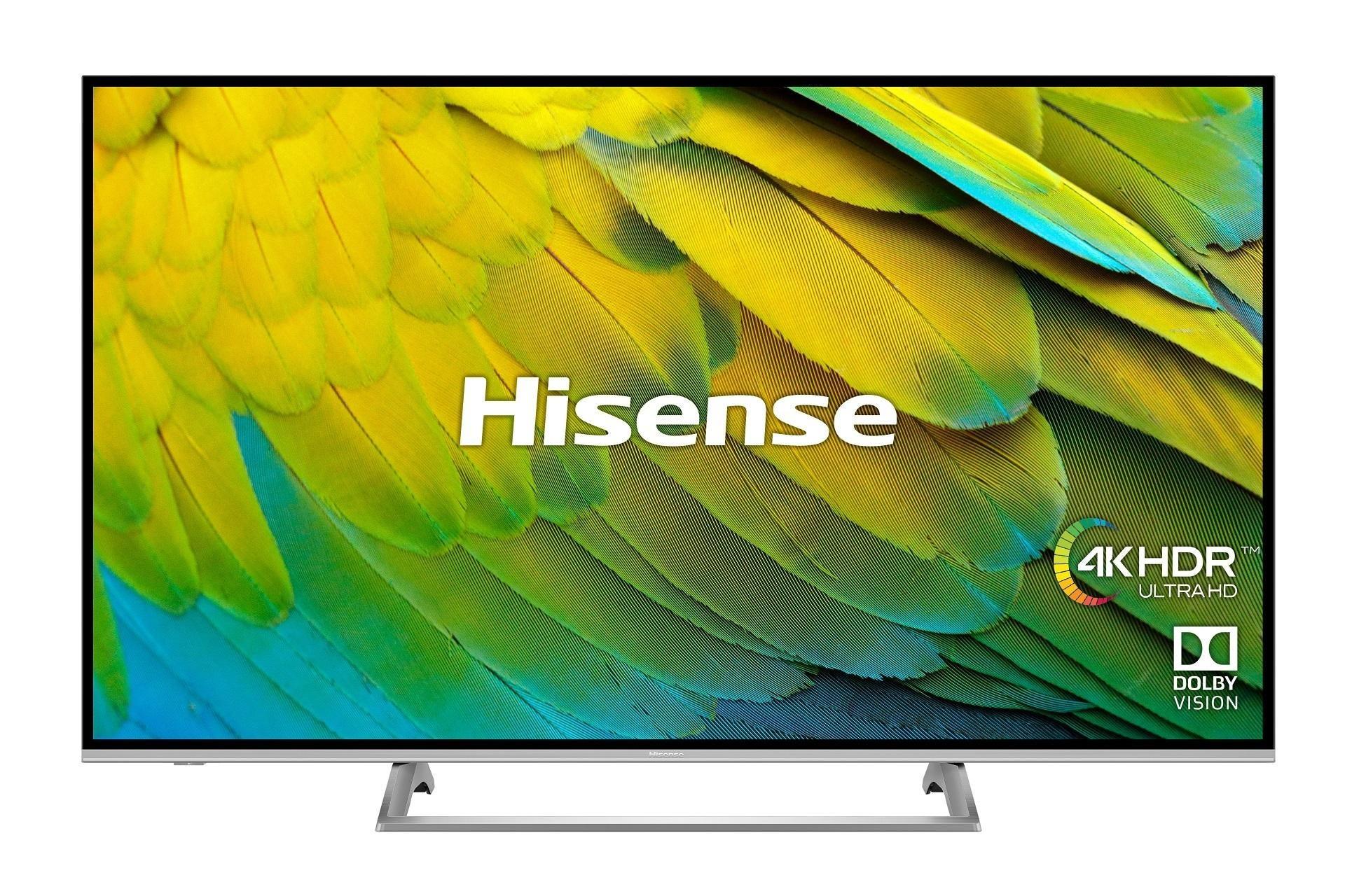 2019 Hisense 50B7500UK 50 inch 4K Ultra HD HDR Smart LED TV Freeview