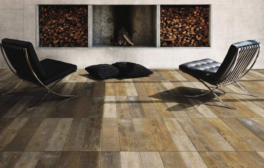 Savona Natural Wood Effect Porcelain Wall Floor Tile 990 Was