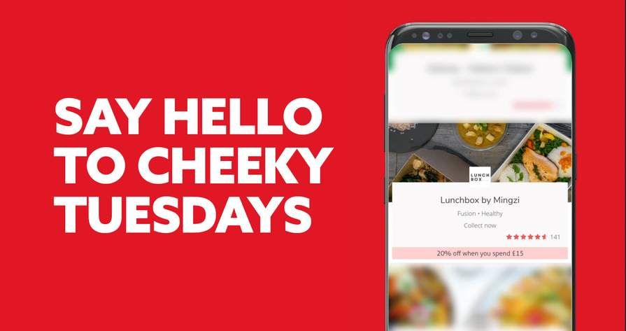 20 Off Takeaway Orders 15 Every Tuesday No Code Needed