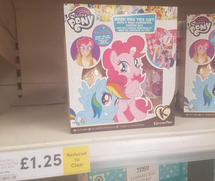 My little pony mask and toy gift easter egg 125 instore at tesco 2931972 arl3wg negle Gallery