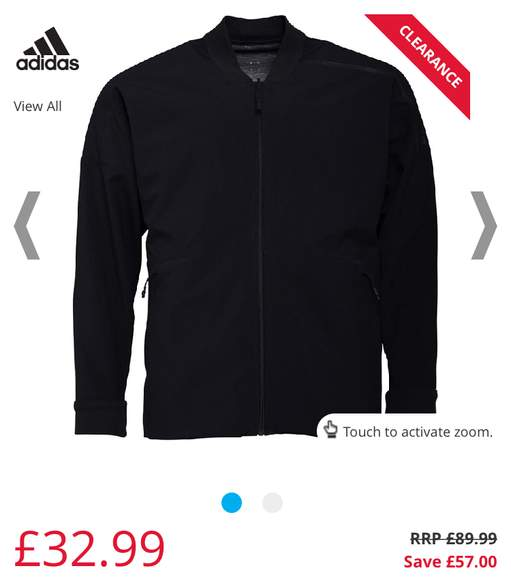 stable quality sleek best value Adidas designer Jackets various collaborations 60% off e.g. ...
