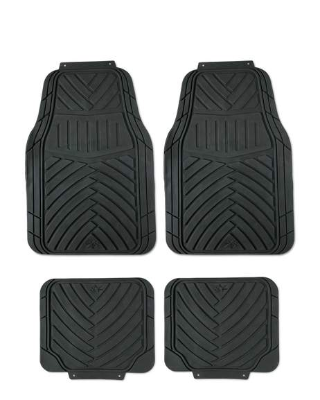 Set Of 4 Car Mats Auto Xs Rubber 163 6 99 Autoxs Heatable