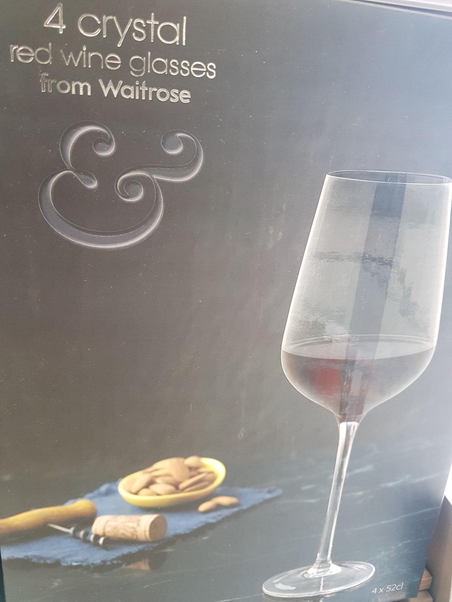 f4feba30d682 Red White Crystal Wine Glasses