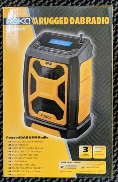 Reka Rugged DAB Radio found at Aldi for £29 99 - hotukdeals