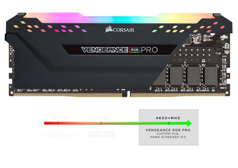 Corsair Vengeance RGB PRO 16 GB (2 x 8 GB) DDR4 2933 MHz C16 £73 99