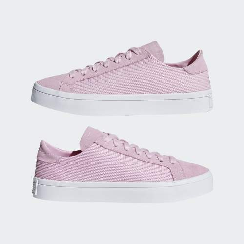 first rate 3c77f b92d2 Womens Court Vantage Trainers - PinkWhite - £24.98 delivered