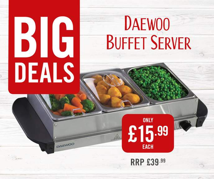 Daewoo Buffet Server 15 99 At The Food Warehouse Iceland Saw These In Kingston Park Newcastle I Remember Seeing Either This One Or A