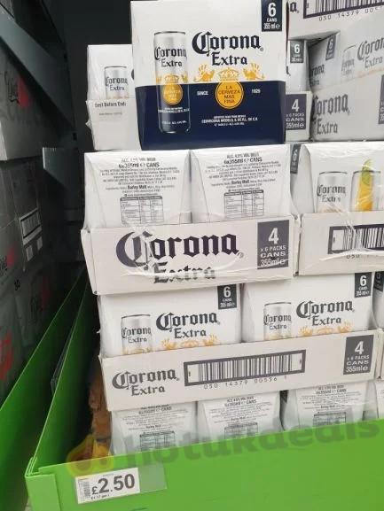 Corona extra 6 Pack 355 ml £2 50 instore @ Asda - hotukdeals