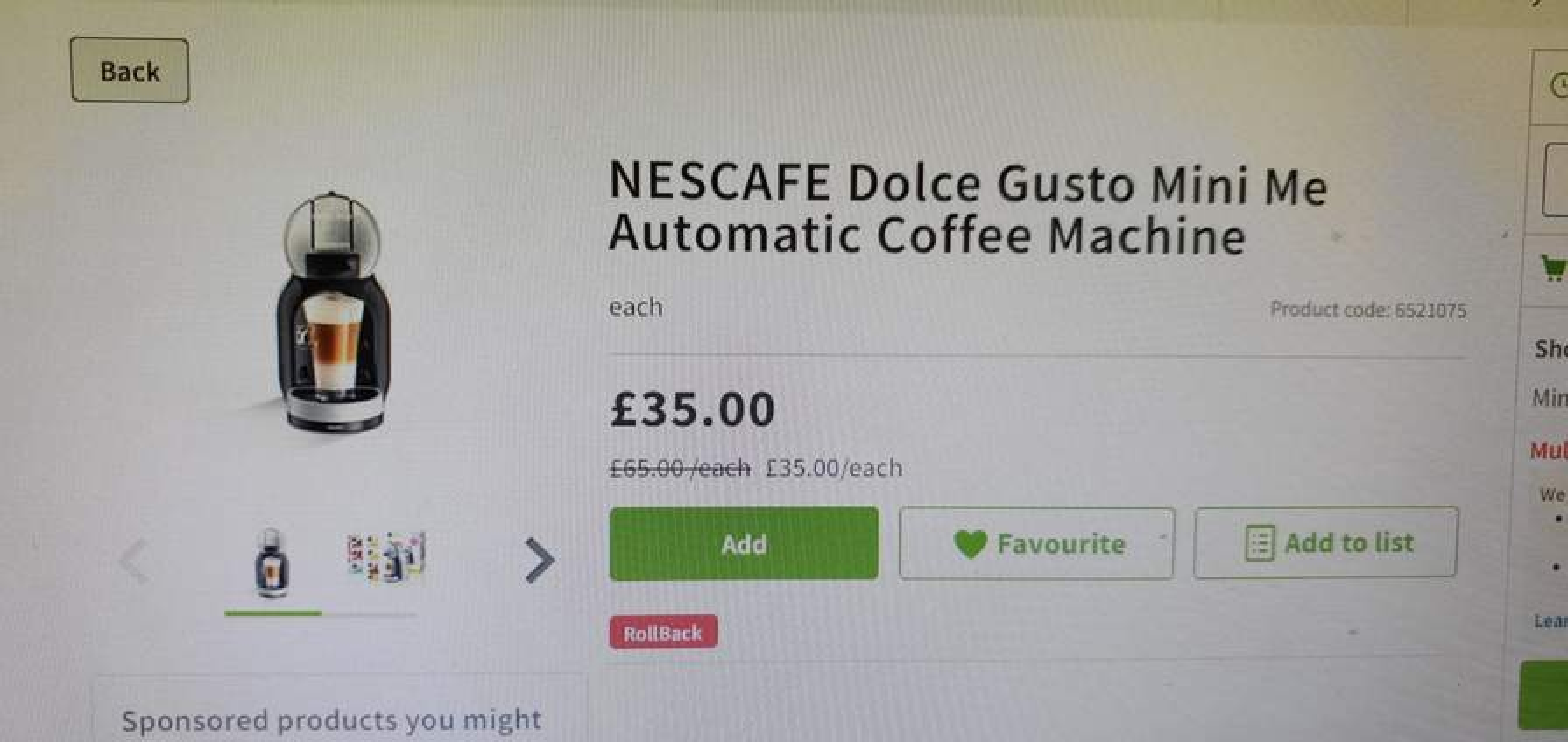 Nescafe Dolce Gusto Mini Me Starter Kit 35 At Asda Hotukdeals