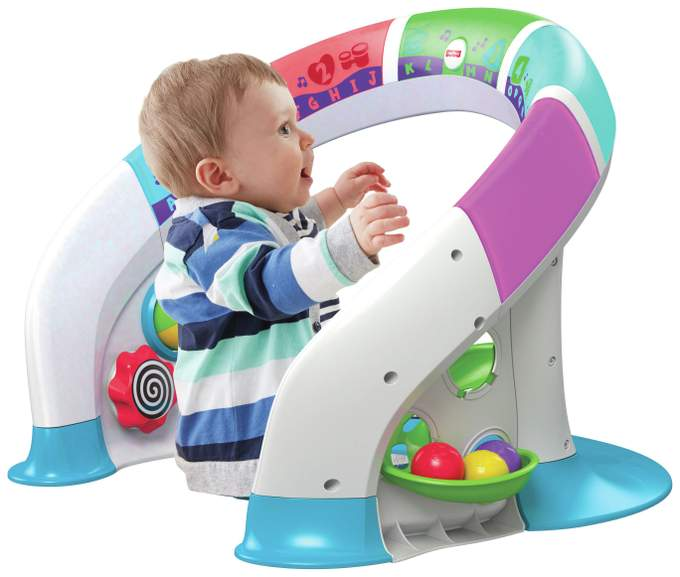 Vtech First Steps Baby Walker In Primary Colours Or Pink