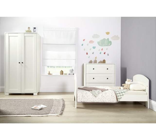 online retailer 293f0 7e1b8 Mamas and Papas Harrow 3 piece nursery furniture set with ...