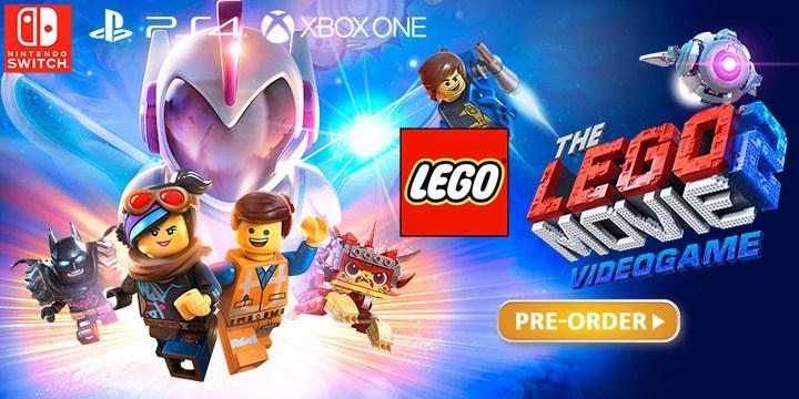 Lego Movie 2 Videgame Switchps4xbox One 2584 Delivered At Base