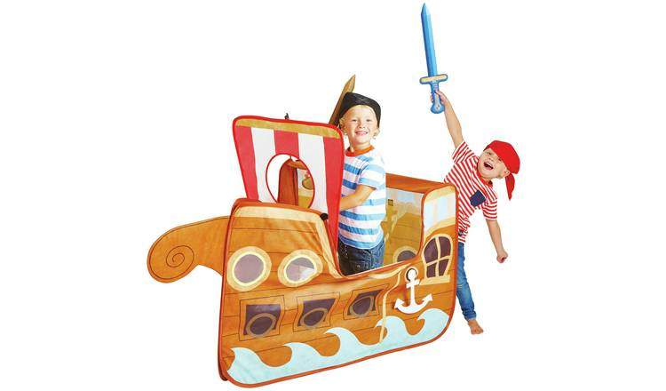 newest f26a7 1a45e Chad Valley Pirate Ship Pop Up Play Tent was £20 now £13 ...