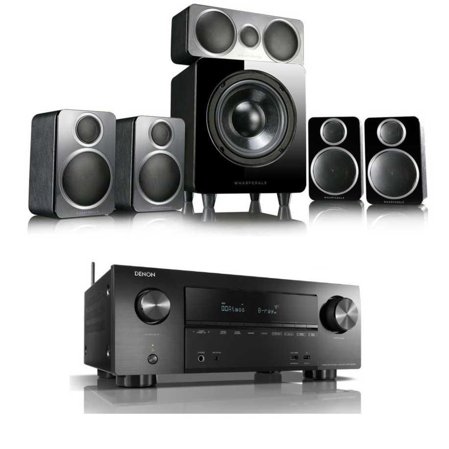 Denon AVRX2500H [ Dolby Atmos] 7 2 Ch  4K AV Receiver +