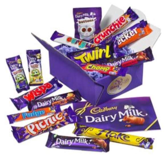 Free cadbury easter treasure box worth 10 quidco new members and well track your journey to cadbury gifts direct add the treasure box to your basket and purchase as normal for 10 plus 395 delivery negle Image collections