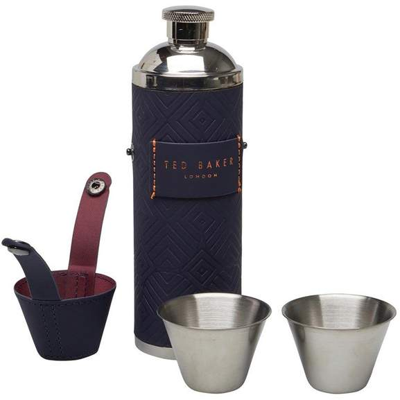 a647c2659 Ted Baker Hip Flask PLUS x2 Shot Cups Now £15.50 Was £40   ASOS ...