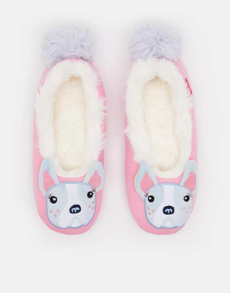 6ac82c496a041 Joules Girls Character Dreama Slipper in Bulldog sizes M & L was £14.95 now  £3.95 Delivered @ Joules / eBay