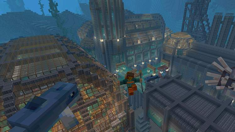Minecraft Deep Sea Mash-Up Pack - Free - Minecraft (Available to