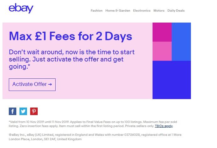 Ebay Motors Fees >> 1 Final Selling Fee Ebay Hotukdeals
