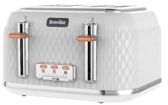 Breville Curve Kettle 163 37 99 In White Rose Gold Others