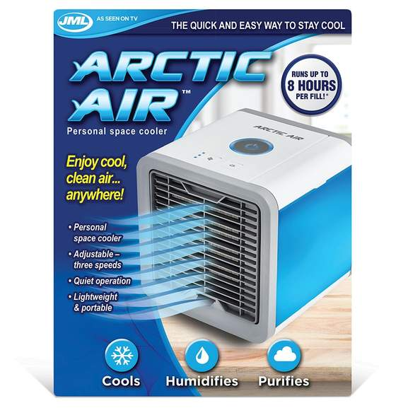 jml arctic air portable air cooler and humidifier now 39. Black Bedroom Furniture Sets. Home Design Ideas