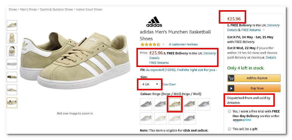 92d833a862f96 Adidas Men's / Boys Munchen Basketball Shoes Sizes 4 Only - Beige ...