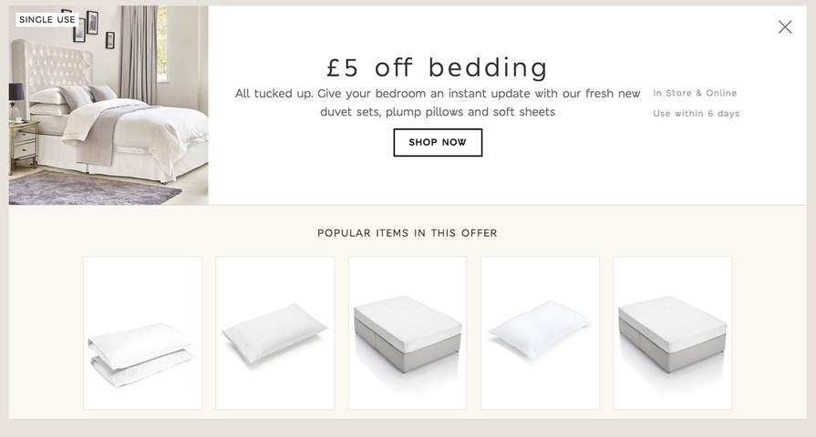 163 5 Off Bedding No Min Spend With Sparks E G 2 Free