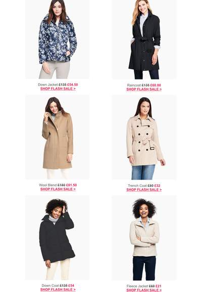 All Coat Discounts, Offers and Sale - October 12222