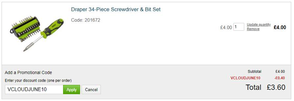 Draper 21-Piece Screwdriver Set for £6 30 with code @ Robert