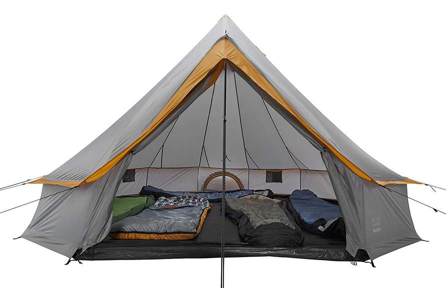 Grand Canyon Indiana 400 round tent Grey Colour @ Amazon £90