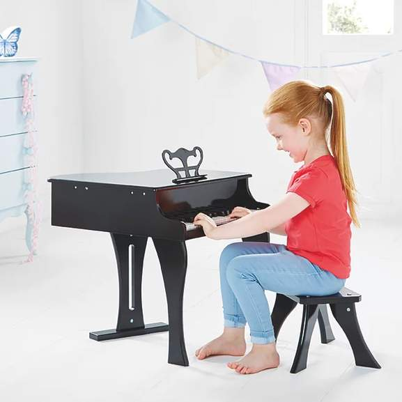 Toy Sale at Asda - Toy Grand Piano + Stool Set £28 / Wooden