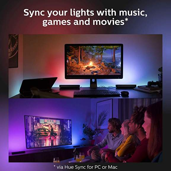 Philips Hue Play White and Colour Ambiance Adjustable Colour