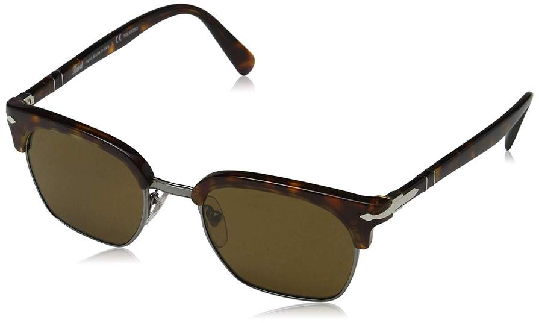 0po3199s Persol Adults' Designer 2457 SunglassesBrown Unisex 50 nwNmv80