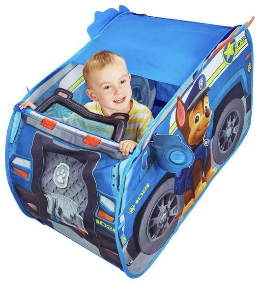 buy popular 7229e 30a7d Pop Up PAW Patrol Chase's Truck Play Tent £10 Click ...