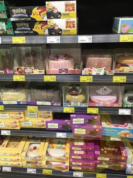 Birthday cakes half price in asda 5 hotukdeals 2922154 epf1tg publicscrutiny Image collections