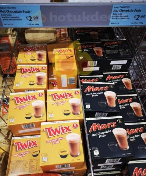 Dolce Gusto Compatible Twix And Mars Hot Chocolate Pods 8pk