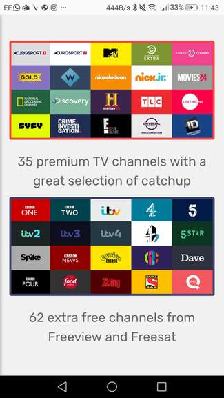 Freeview TV app for Amazon fire stick, Android, Apple, windows,Roku