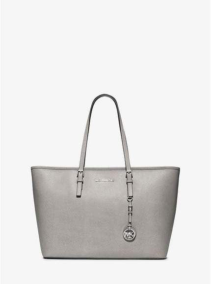 692b72dfd76a MICHAEL KORS Jet Set Saffiano Leather Top-Zip Tote (was £295) Now £117.60  delivered + EXTRA 20% Off Sale items using code at Michael Kors