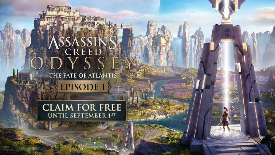 Assassin's Creed Odyssey - The Fate of Atlantis Episode 1 DLC Free [PS4/Xbox One/PC]