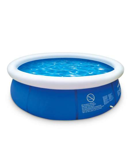 10ft quick up paddling pool delivered aldi or buy. Black Bedroom Furniture Sets. Home Design Ideas
