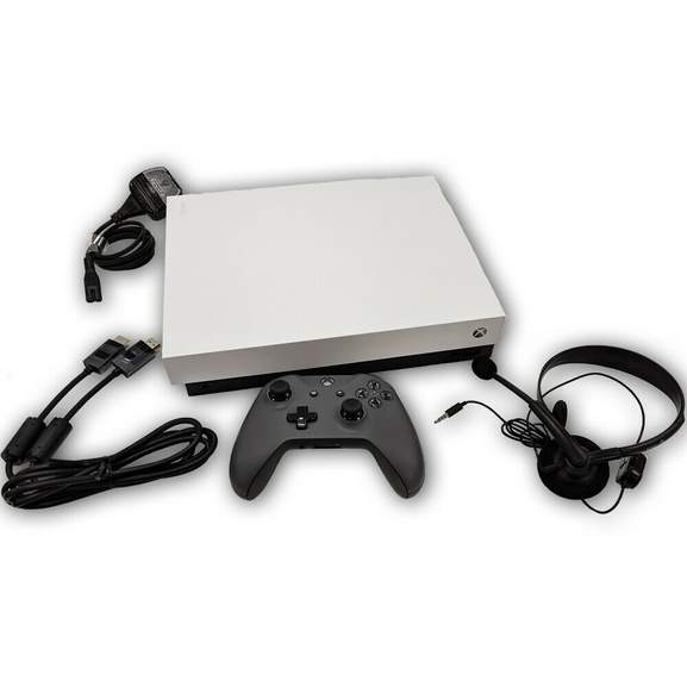 Microsoft Xbox One X 1TB Bundle - Robot White Special