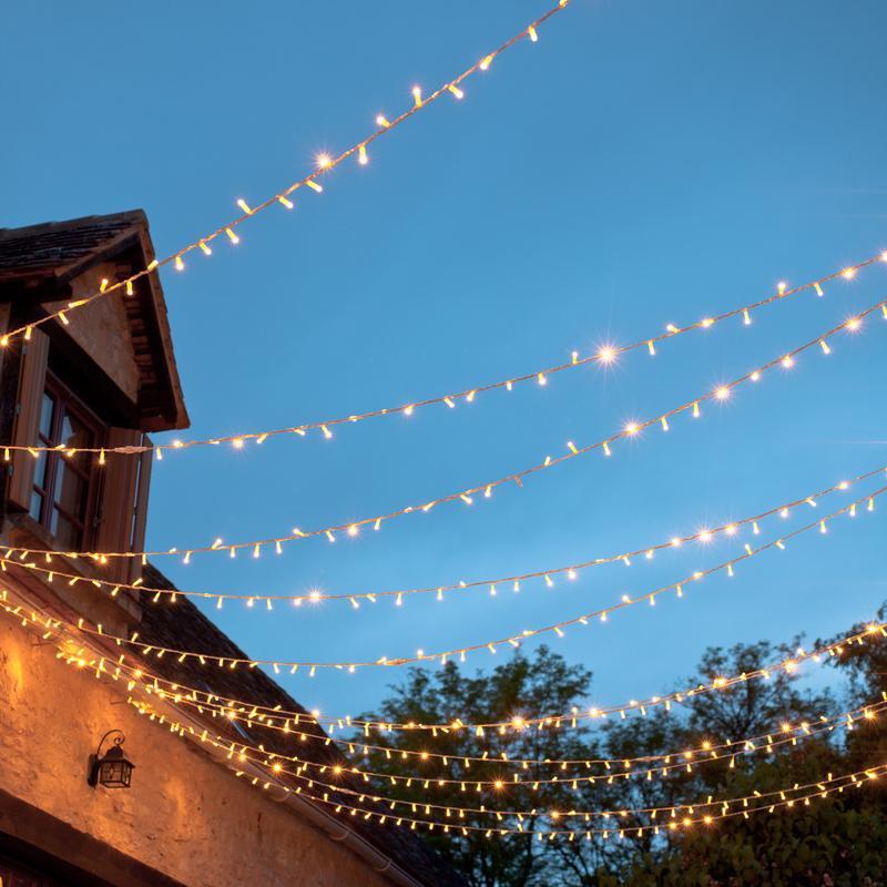 new arrival 5050c d20e4 100 Warm White or Bright White Fairy Lights - £2.50 / Solar ...
