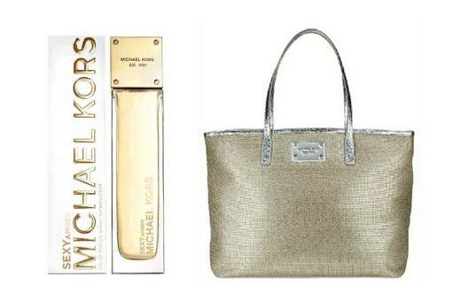Michael Kors Sexy Amber Eau De Parfum 185ml Spray + Free Tot