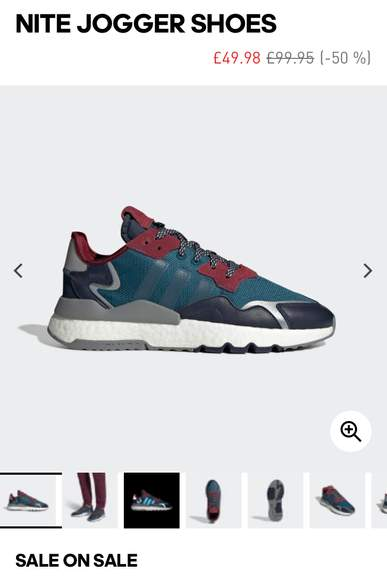 Adidas up to 50% off sale & 20% off discount code New Lines
