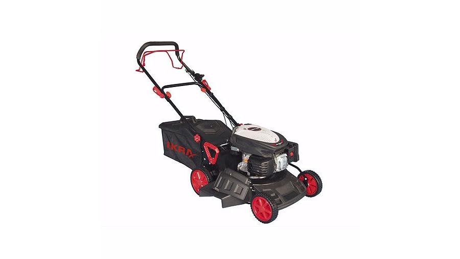 ikra red self-propelled 173cc (lamborghini) petrol lawn mower