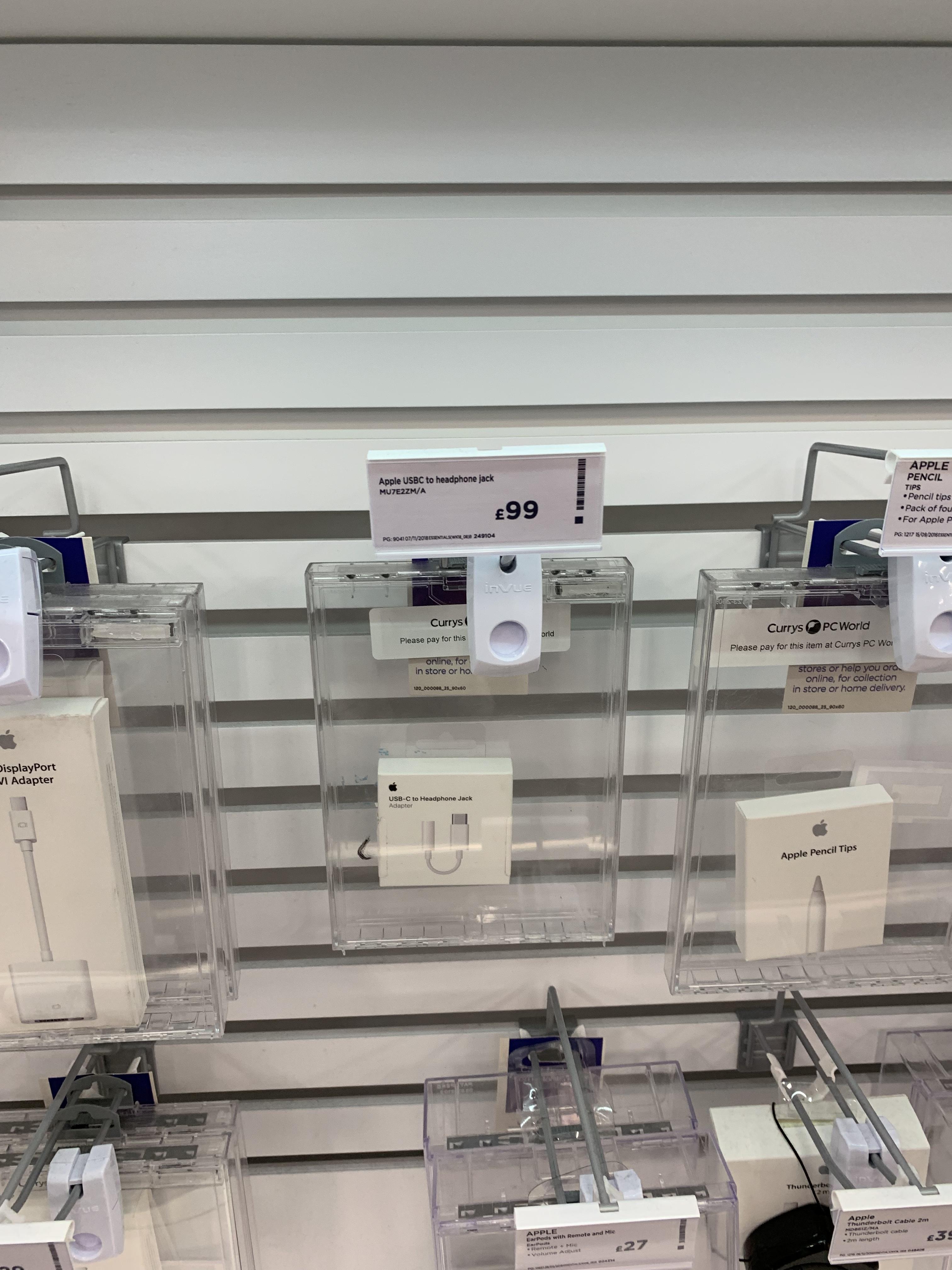 Apple Usb C To Headphone Jack 99 Tesco Kingston Milton Keynes