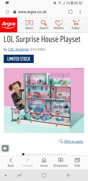 Lol Surprise House Playset Now Back In Stock 179 99 Argos