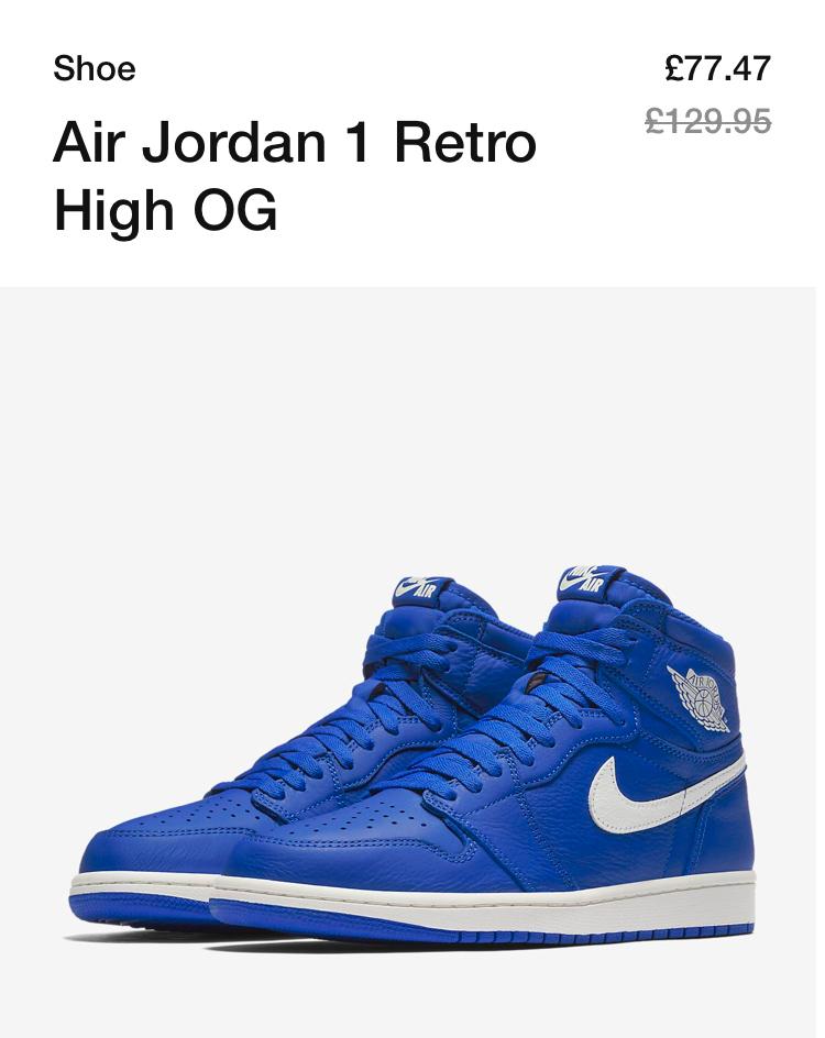 Jordan Retro Air Trainers Now 47 1 £77 Og High Nike L4jRA5